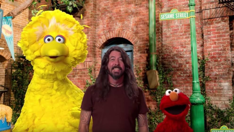 Dave Grohl in der Sesamstraße