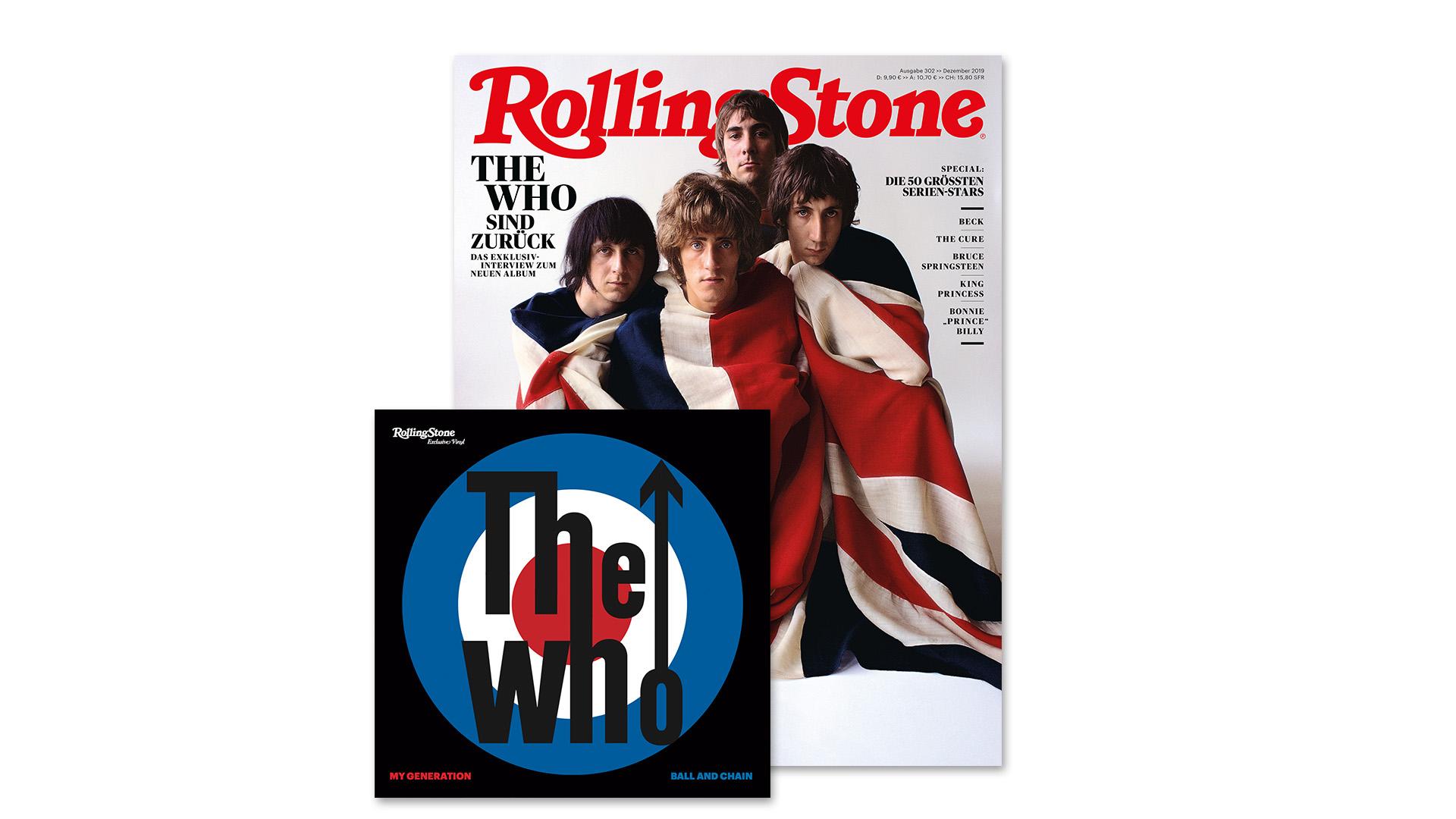 ROLLING STONE im Dezember 2019 - Titelthema: The Who + exklusive...