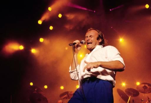 Phil Collins 1985 in Australien