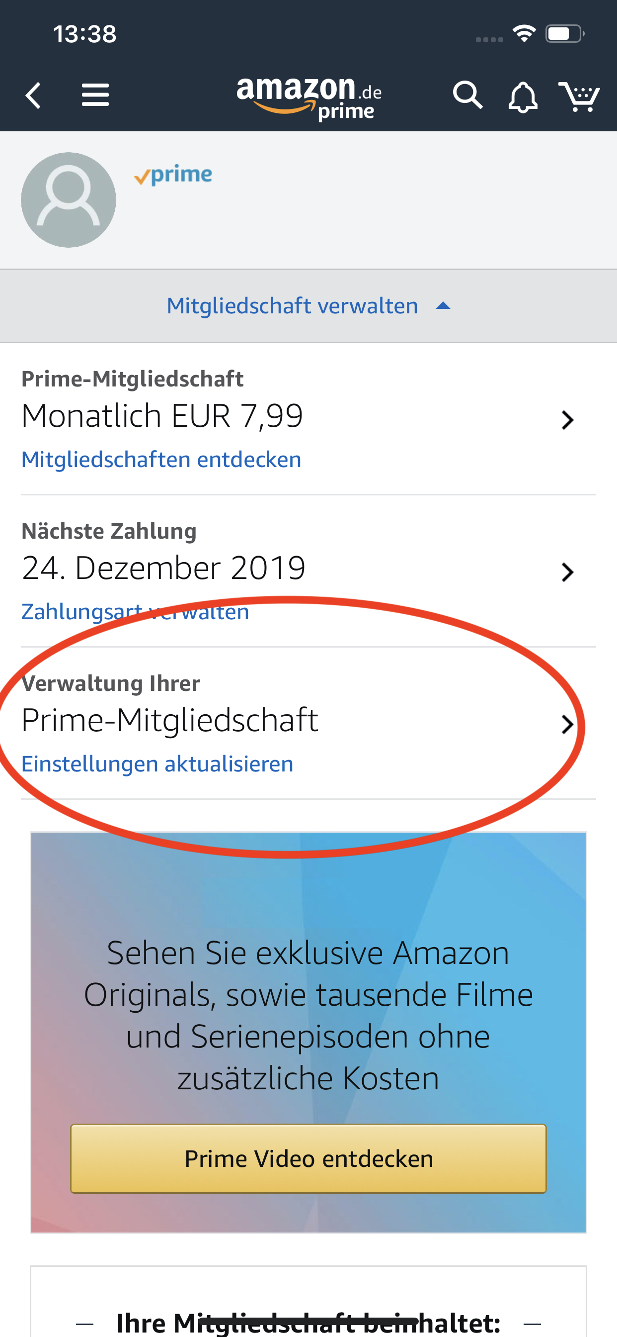 Amazon Abo Kündigen