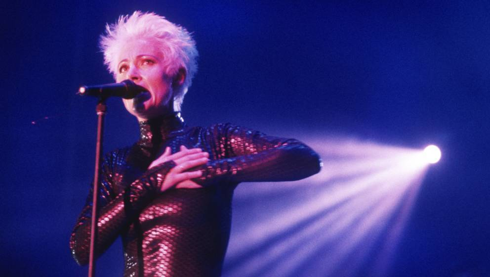 Ahoy - Rotterdam - Holland -04/10/1991 Roxette: Marie Fredriksson Photo gie Knaeps