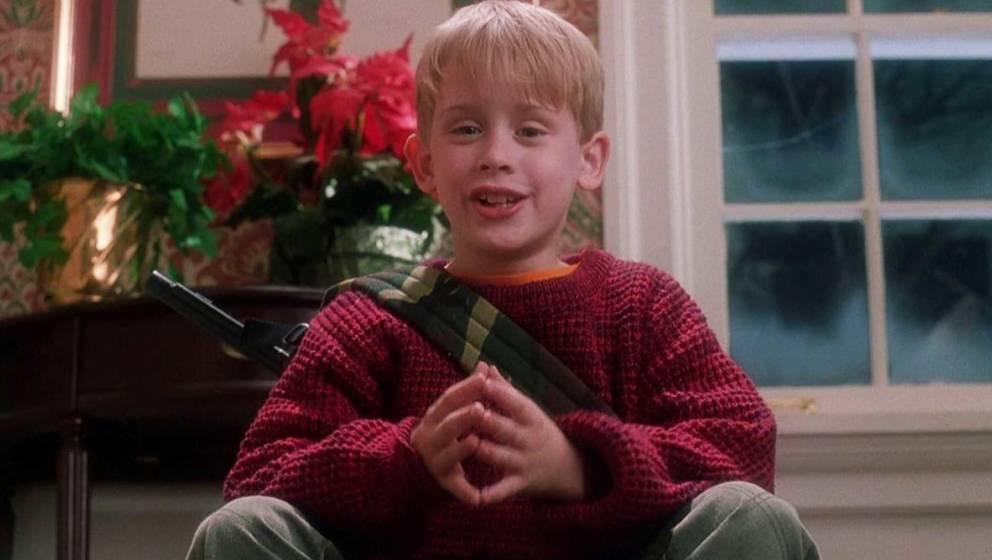 """Ein echter Weihnachtsklassiker: Der 1990 erschienene Familienfilm """"Kevin – Allein zu Haus"""" mit Macauly Culkin."""
