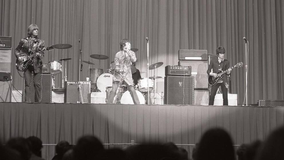 Rolling Stones live in Bremen, 1967.