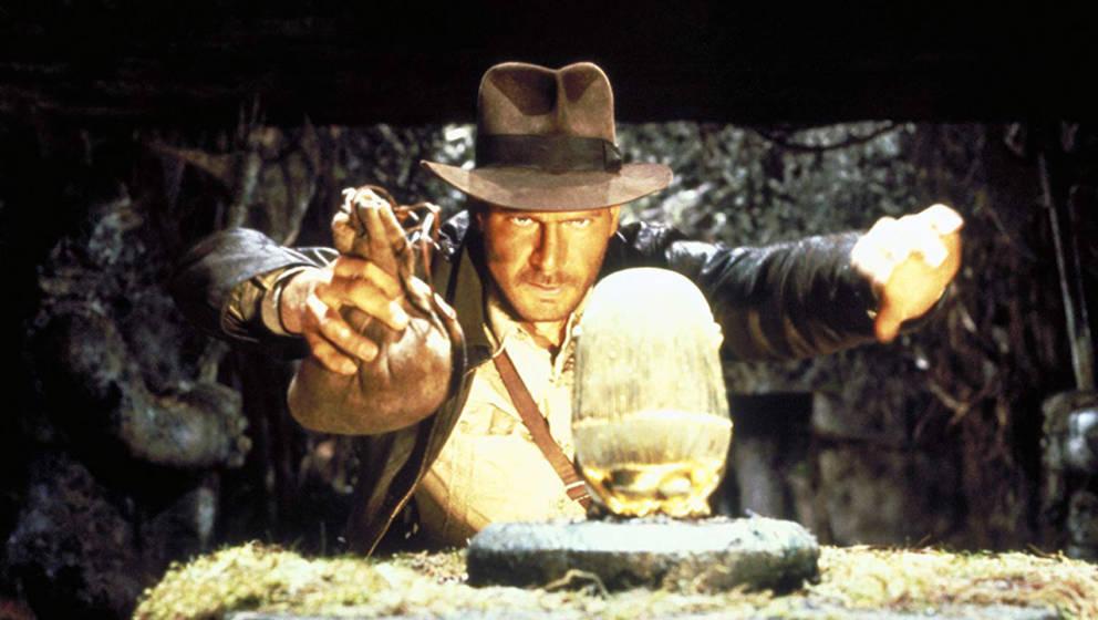 Der Abenteurer Indiana Jones begibt sich auf die Suche nach der Bundeslade.