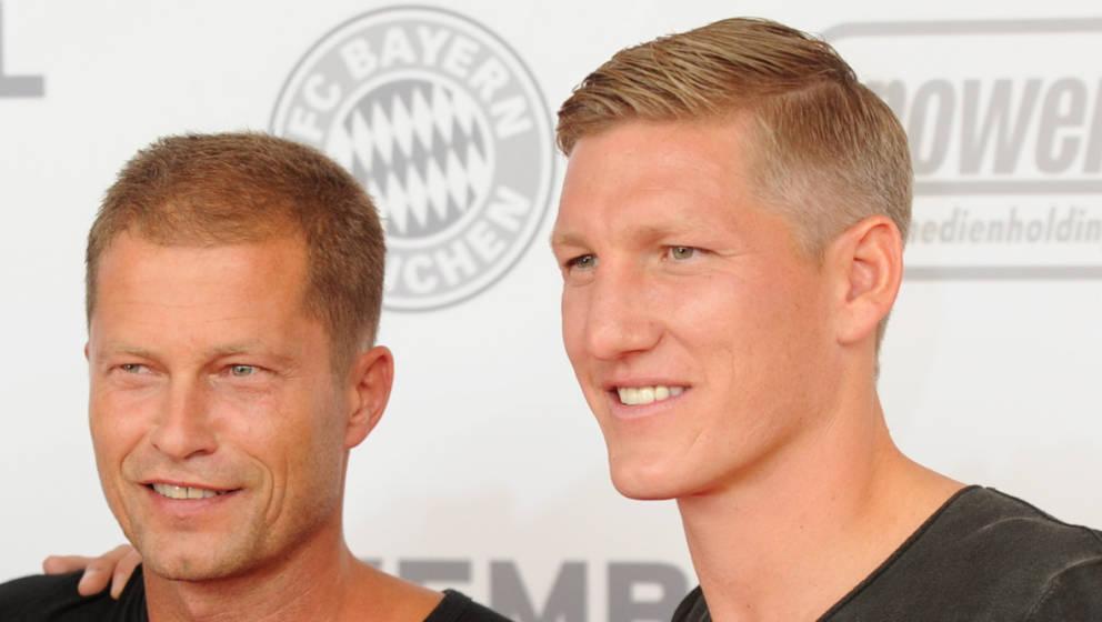 Gut befreundet: Til Schweiger und Bastian Schweinsteiger (Archivfoto von 2013)