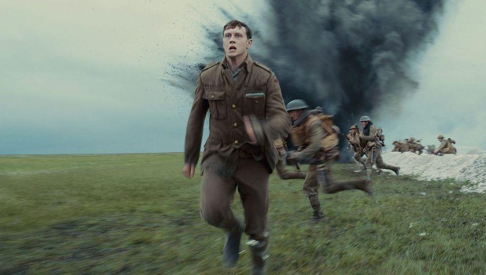 """Rennen, so schnell es geht: """"1917"""" zeigt einen Krieg ohne Helden"""