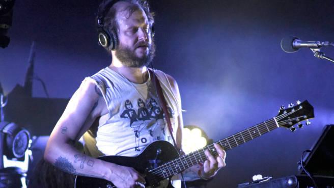 Justin Vernon von Bon Iver beim Bonnaroo Festival