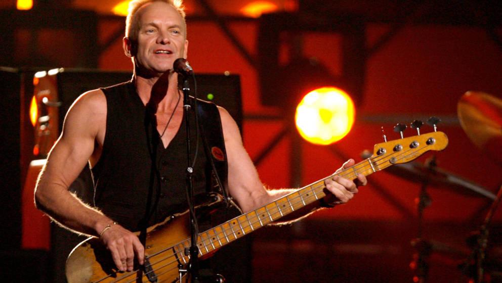 Sting während einer Liveshow im Jahr 2007.