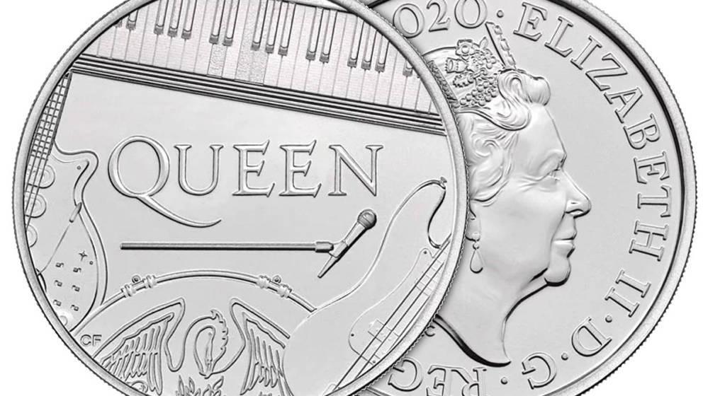 Die offizielle Queen-Münze der Königlichen Münzanstalt