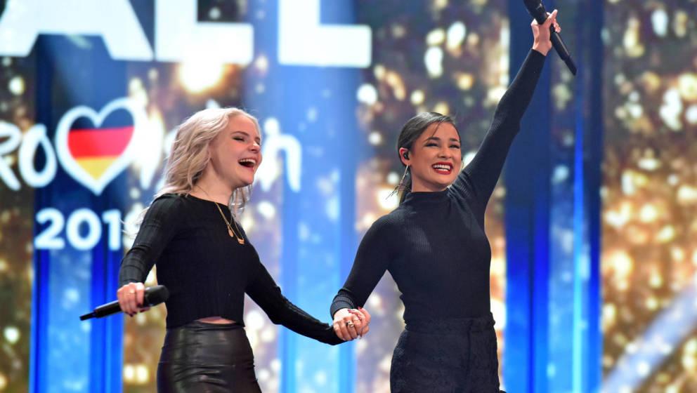 """Sisters gewannen letztes Jahr die Show """"Unser Song für Israel"""""""