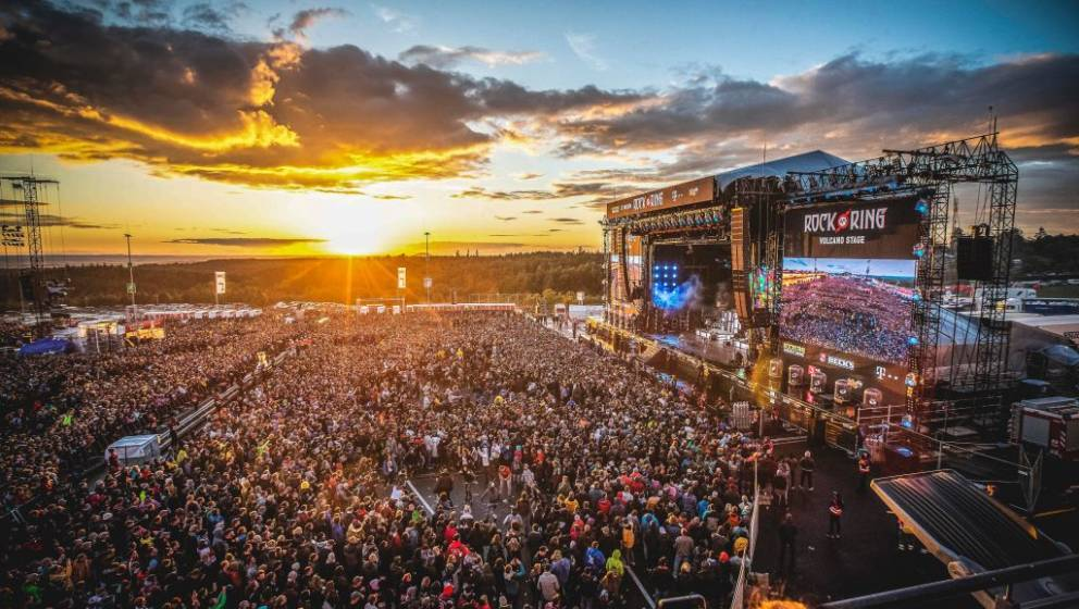 NUERBURG, GERMANY - JUNE 8: General view of Rock am Ring at Nuerburgring on June 8, 2019 in Nuerburg, Germany. (Photo by Gina