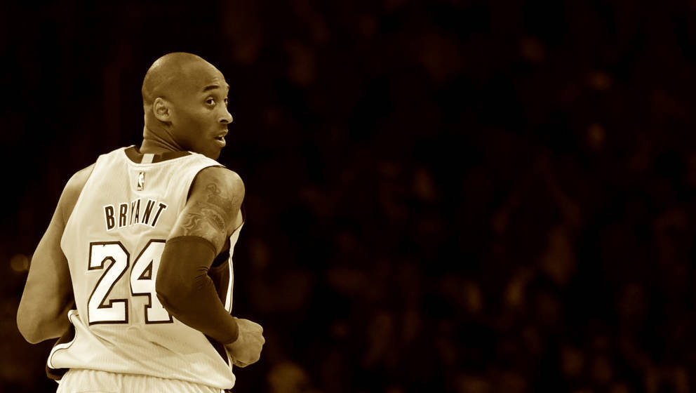 Kobe Bryant im Staples Center in Los Angeles