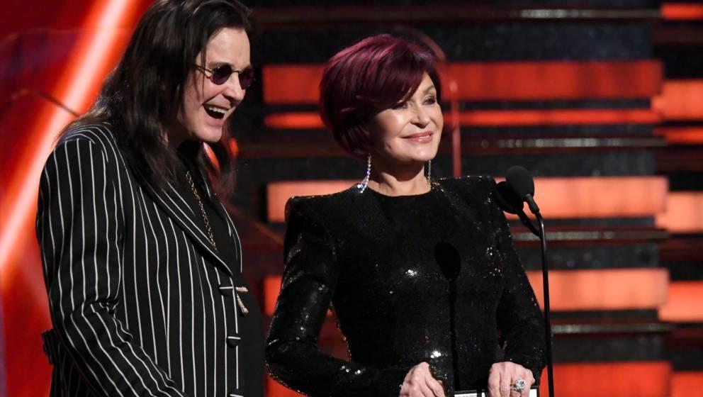 Ozzy und Sharon Osbourne bei den Grammys 2020