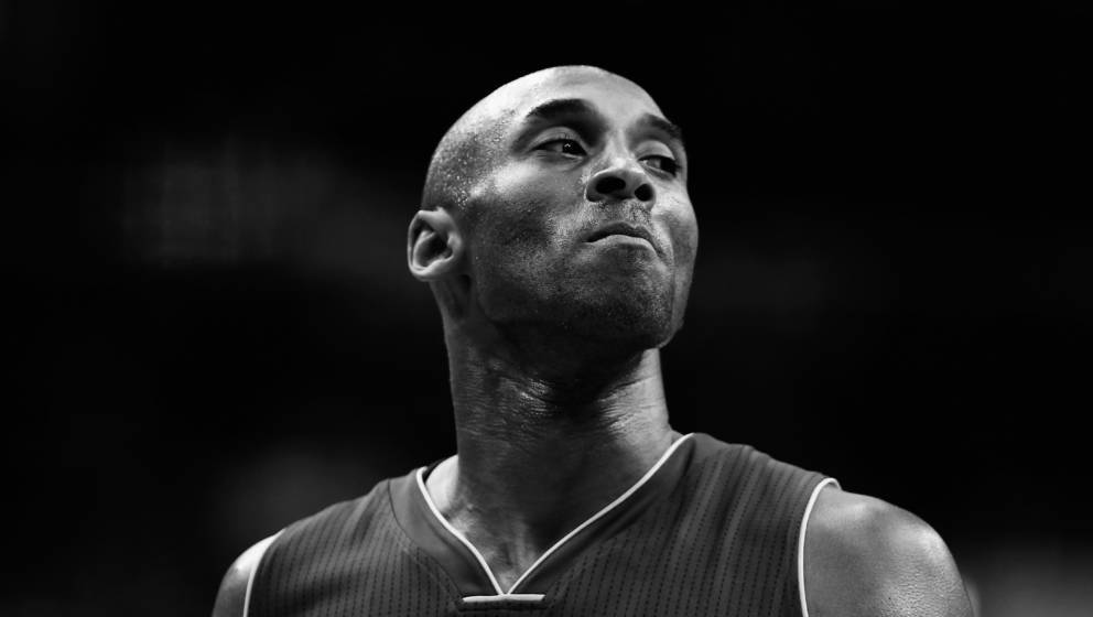 WASHINGTON, DC - DECEMBER 02: (Editors Note: Image has been converted to black and white) Kobe Bryant #24 of the Los Angeles