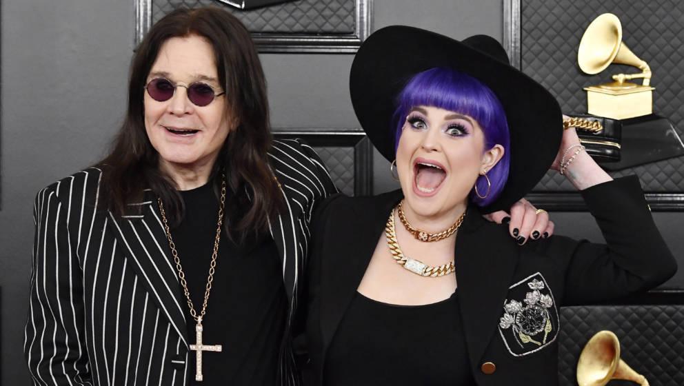 Ozzy und Karen Osbourne bei den 62. Grammy-Awards