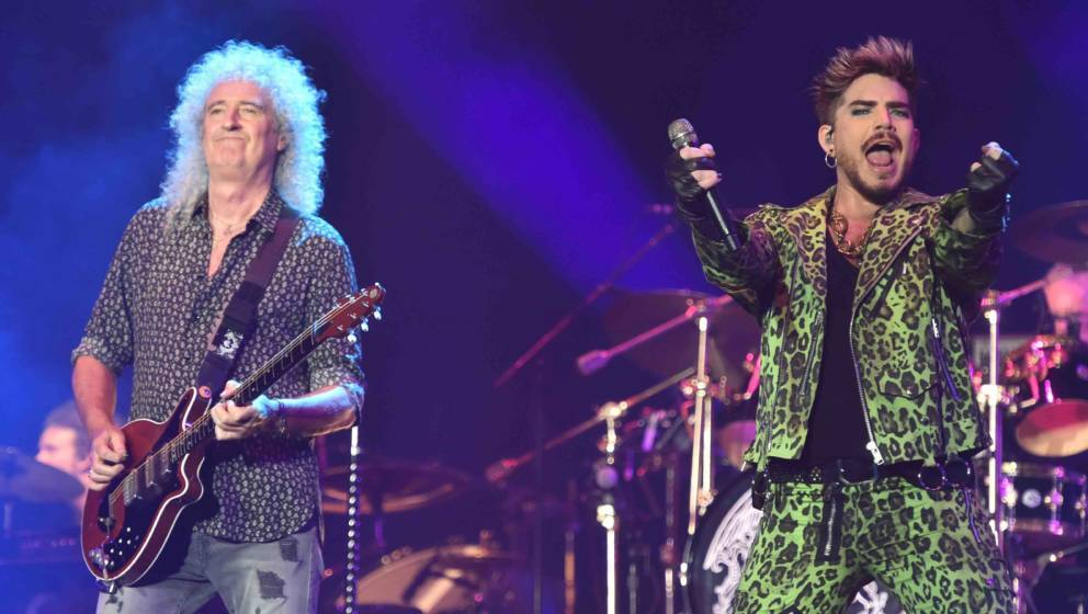 Queen and Adam Lambert perform at the Fire Fight Australia, a concert for National Bushfire Relief in Sydney on February 16,