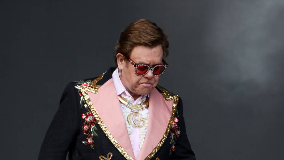 Elton John bricht Konzert in Auckland (Neuseeland) ab