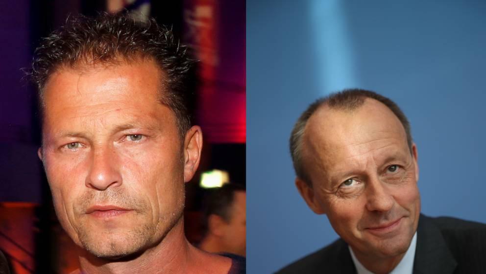 Til Schweiger votiert für Friedrich Merz als CDU-Chef