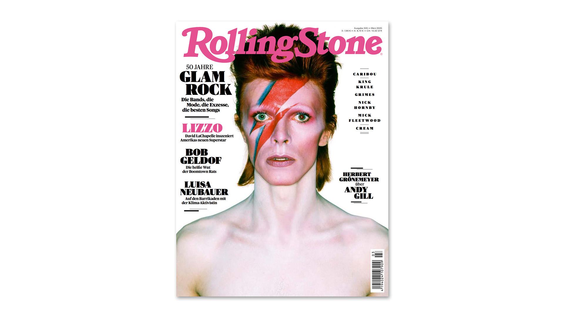 ROLLING STONE im März 2020 – Titelthema: Glamrock