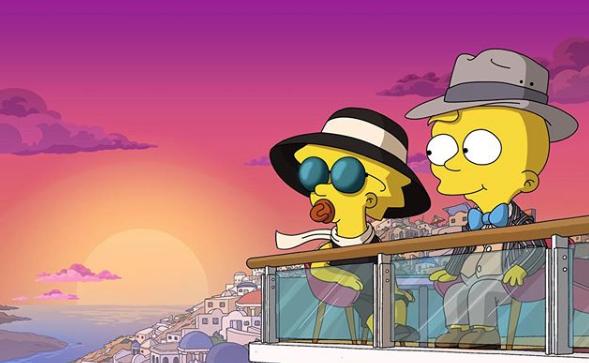 """Promobild für """"Playdate With Destiny"""", dem ersten """"Simpsons""""-Kurzfilm im Kino"""