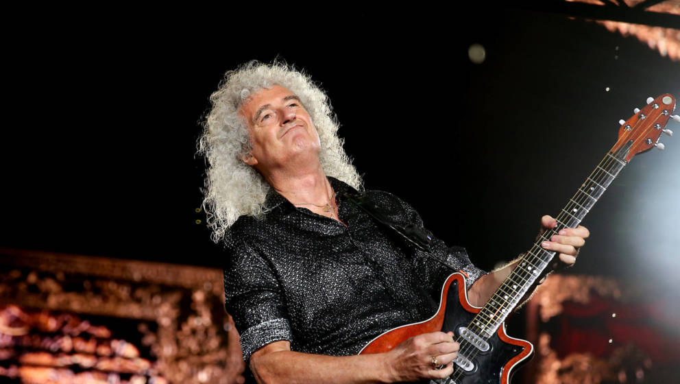 Brian May sagt leise Servus