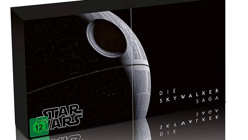 """So sieht das 4K-Boxset von """"Star Wars Episode 1 - 9: Die komplette Skywalker Saga"""" aus"""