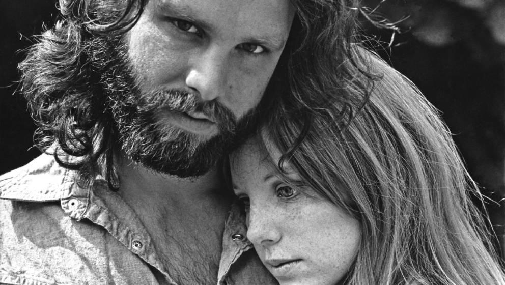 Jim Morrison mit Pamela Courson