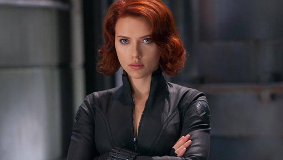 """Scarlett Johansson als """"Black Widow"""""""