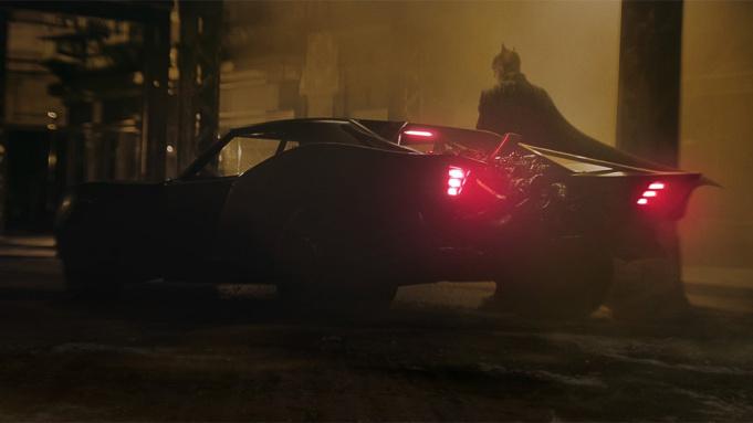 """Das neue Batmobil aus """"The Batman"""""""