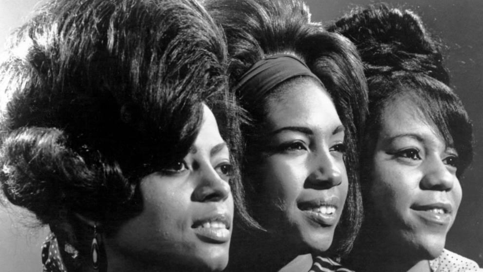 The Supremes in den frühen 60ern - ein Bild mit Barbara Martin existiert in den Archiven nicht