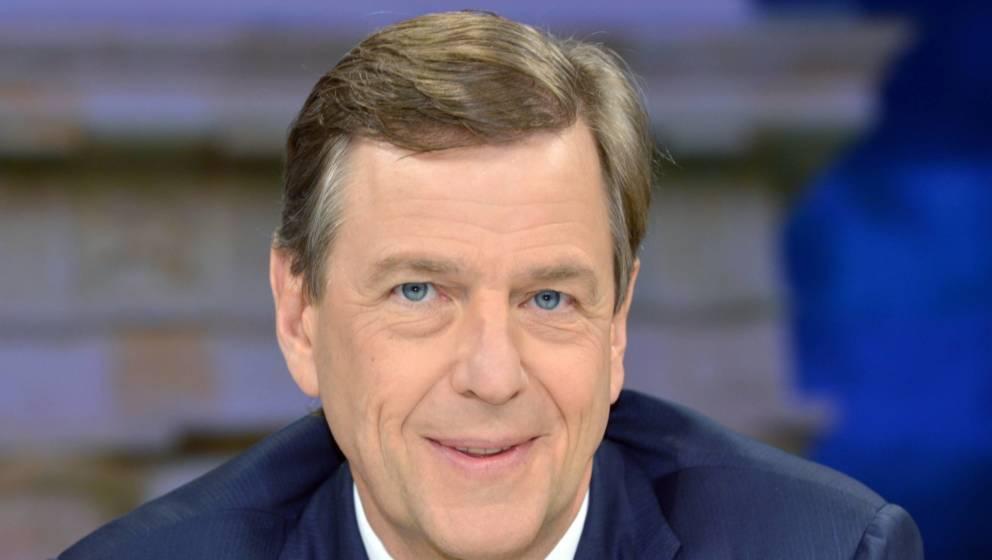 """""""heute-journal""""-Moderator Claus Kleber"""
