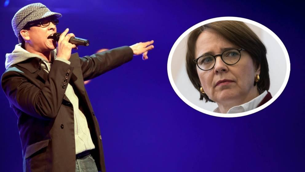 CDU-Politikerin Annette Widmann-Mauz ist vom Video von Xavier Naidoo erschrocken