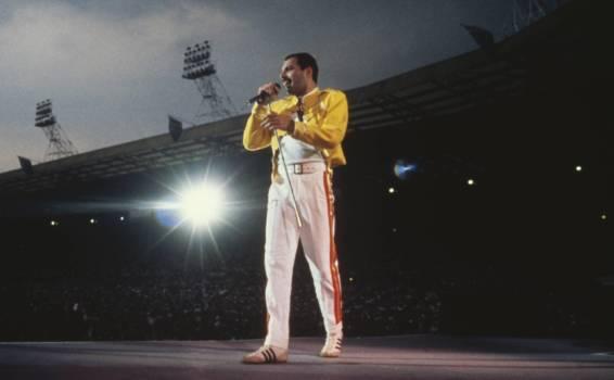 Queen und Freddie Mercury live Wembley 1986