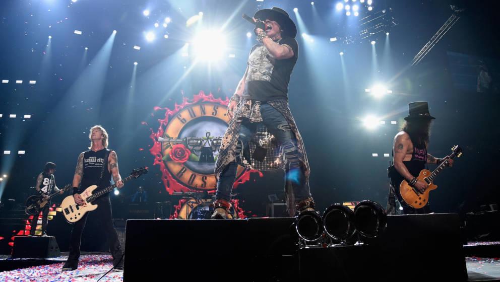 Guns N' Roses live im Madison Square Garden im Oktober 2017