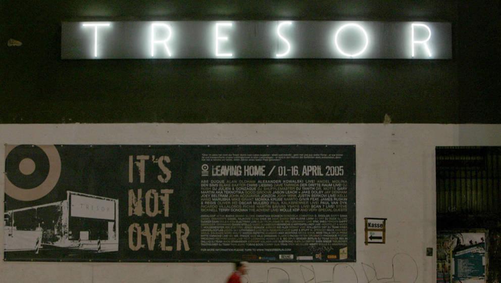 Der Berliner Club Tresor kurz vor seiner Schließung im Jahr 2005 – heute existiert der Club an einer anderen Location.