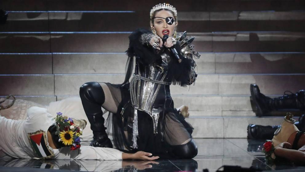 Madonna 2019 live in Tel Aviv.