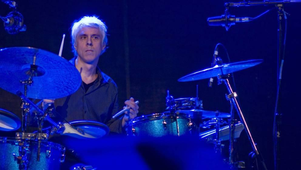 Bill Rieflin bei einem Auftritt im Jahr 2008