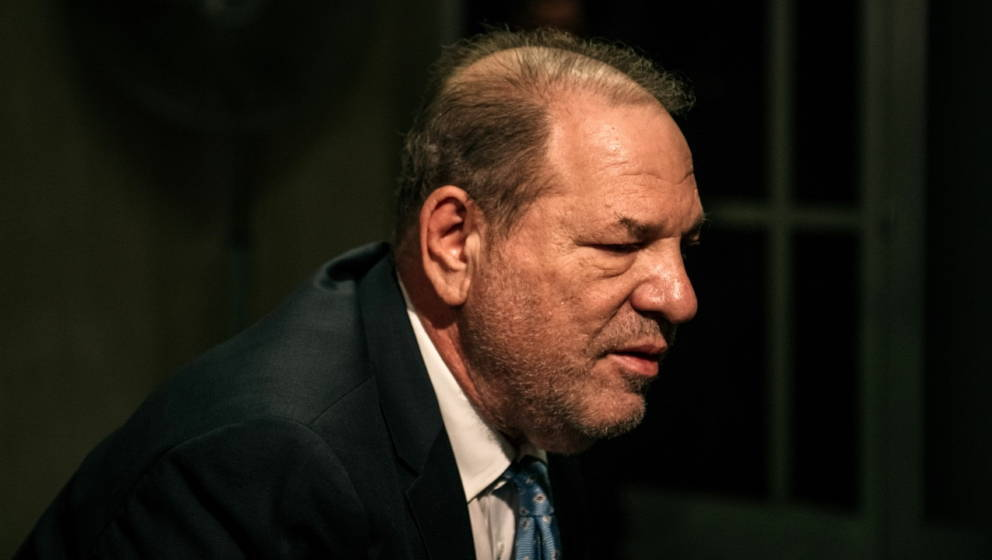 Harvey Weinstein am 24. Februar 2020 in New York City.