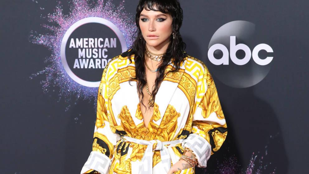 Kesha bei den American Music Awards 2019 in Los Angeles