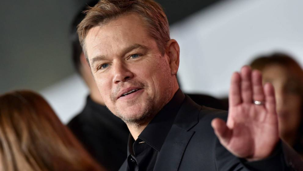 Matt Damon 2019 auf einer Filmpremiere in Hollywood
