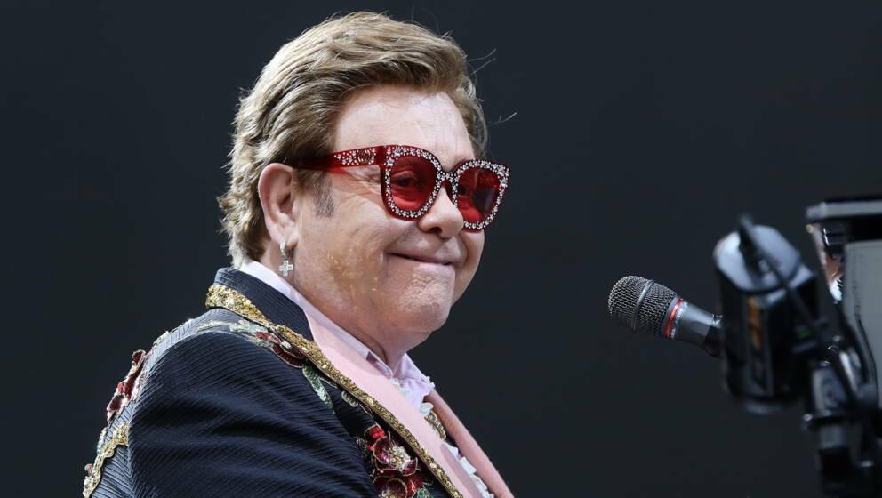 Elton John am 16. Februar 2020 in Auckland, Neuseeland.