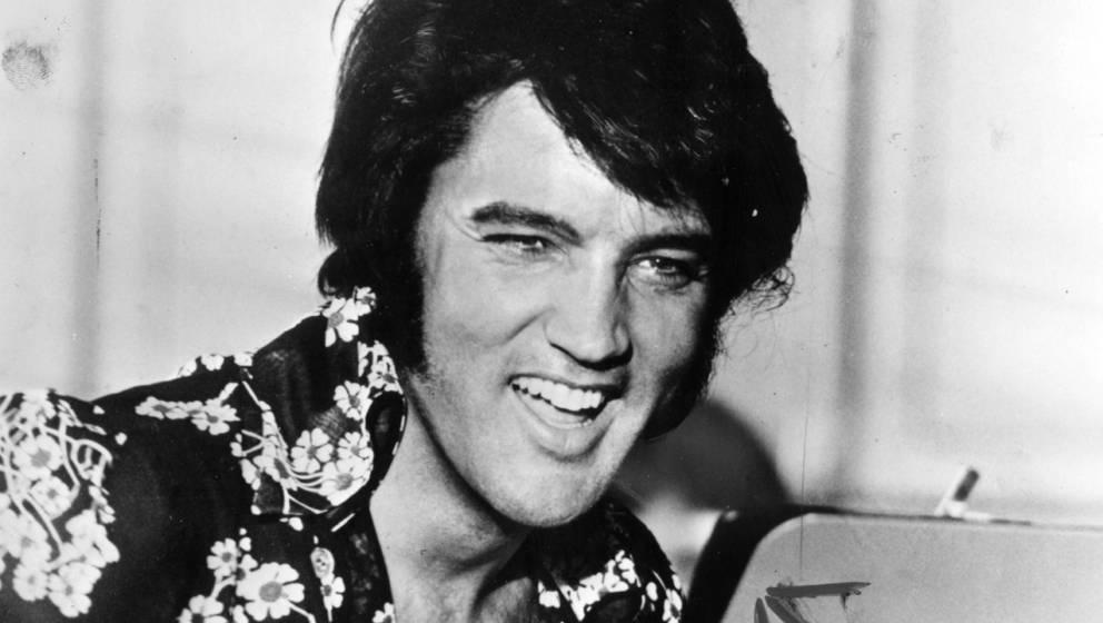 Elvis Presley um 1975.