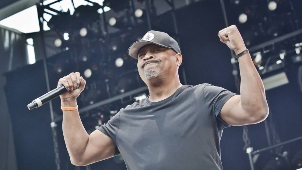 Chuck D von Public Enemy am 18. Mai 2019 live in Berlin.