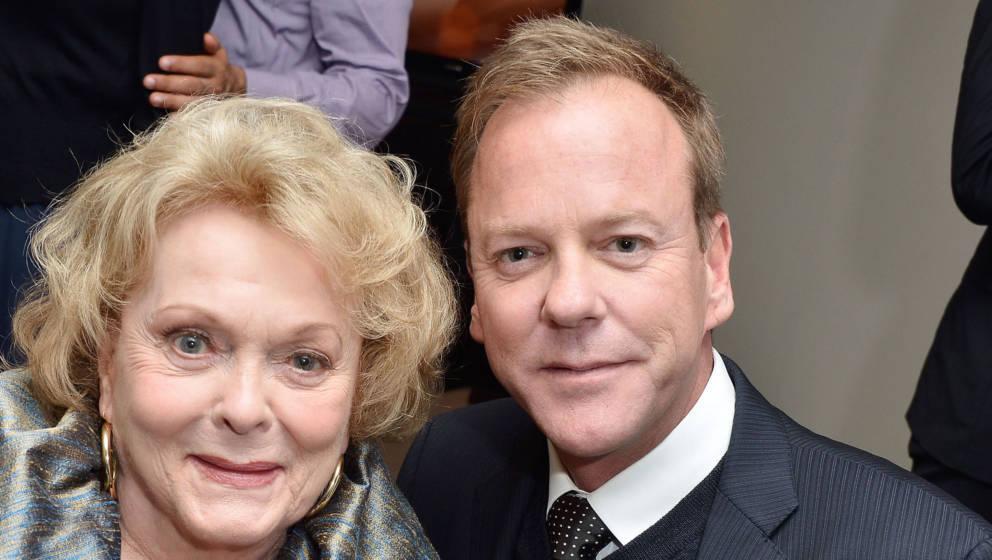 Shirley Douglas (1934-2020) mit ihrem Sohn Kiefer Sutherland