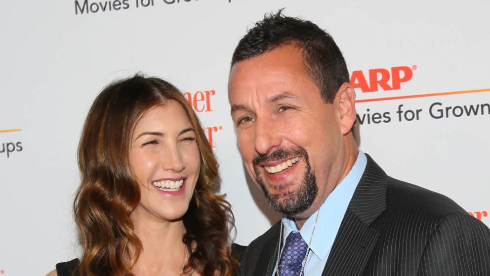 Adam Sandler mit seiner Ehefrau Jackie Sandler