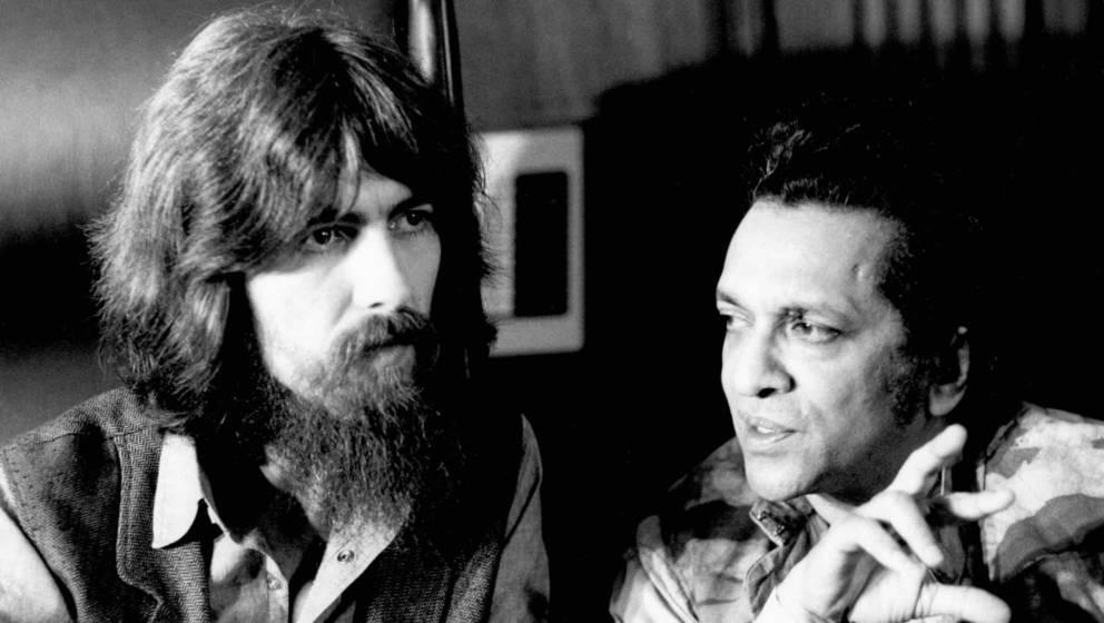 George Harrison mit Ravi Shankar