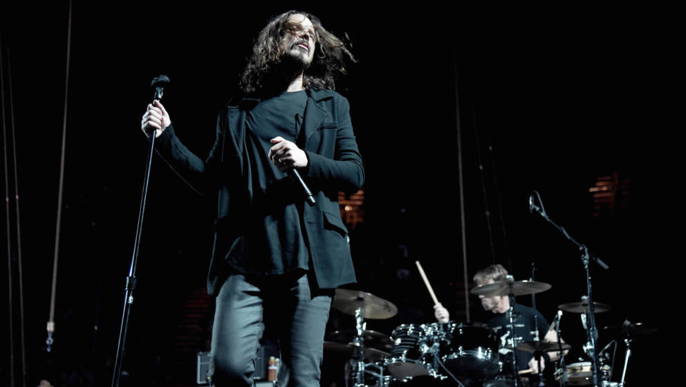 Chris Cornell bei einem Temple Of The Dog-Konzert im November 2016