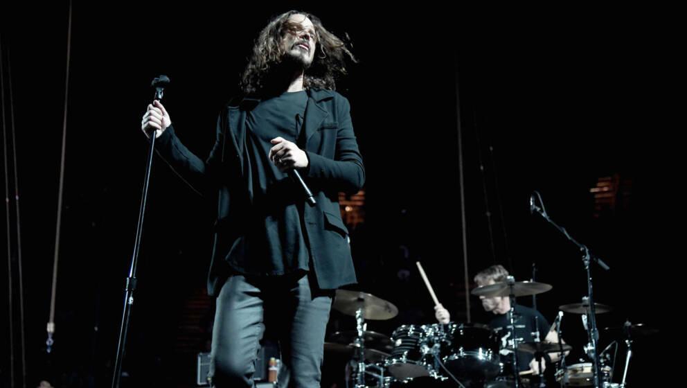Chris Cornell bei einem Temple Of The Dog-Konzert im November 2016