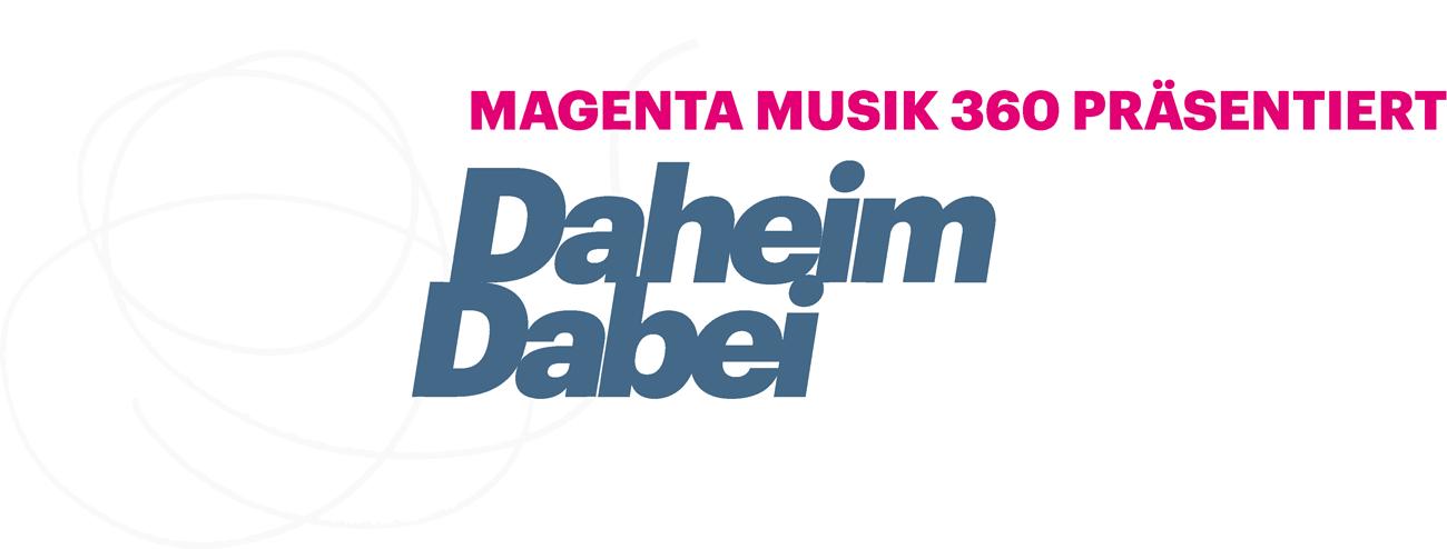 Logo Daheim Dabei Konzerte
