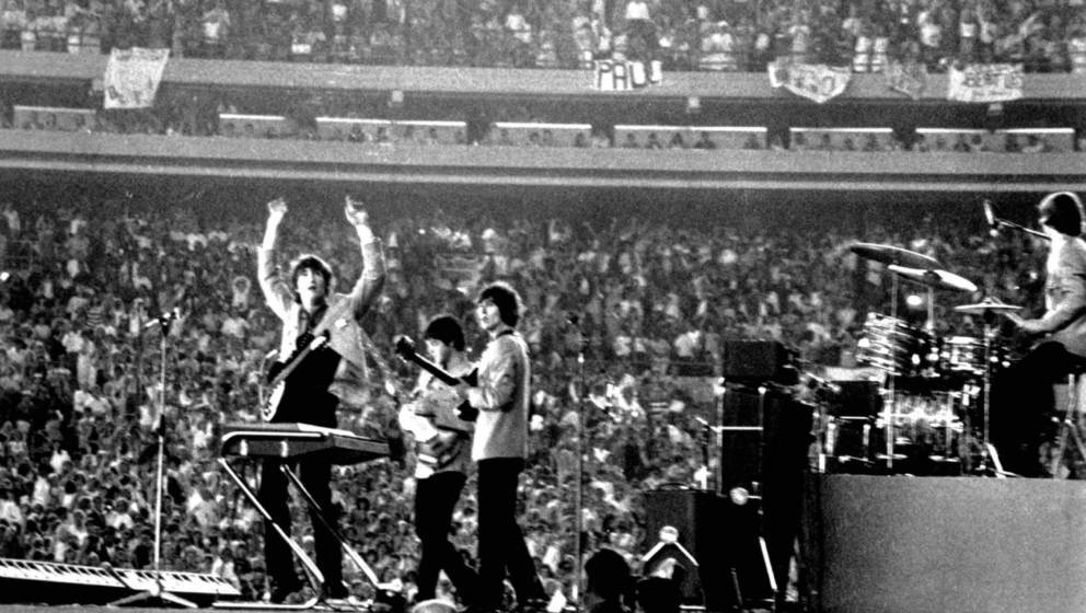 The Beatles, Shea Stadium, New York, 15. August 1965.